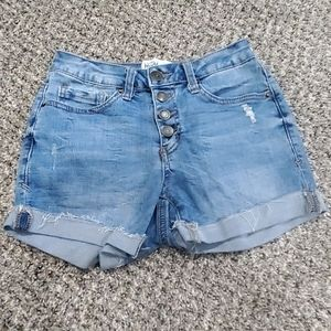 Juniors jean shorts